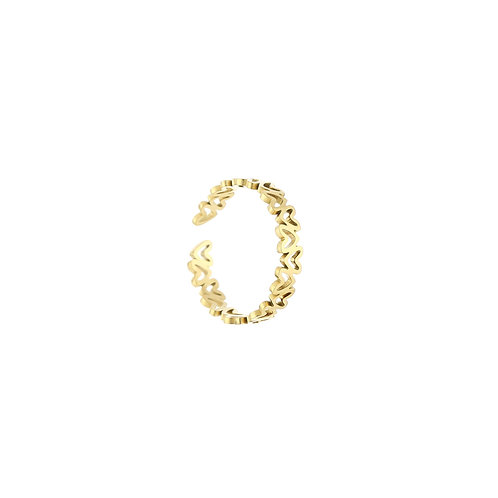 lots of love ring gold