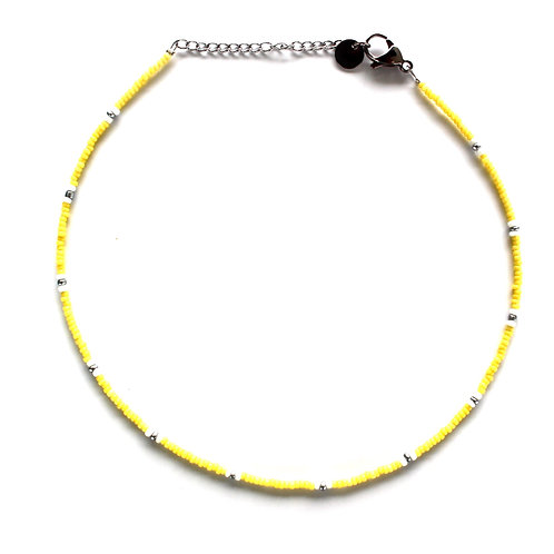 basic choker yellow