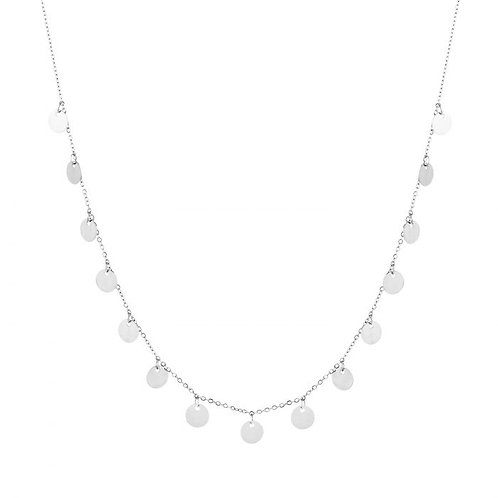 full coins necklace silver