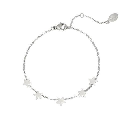 star bracelet silver