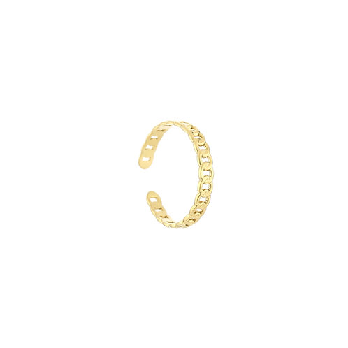 small chain ring gold