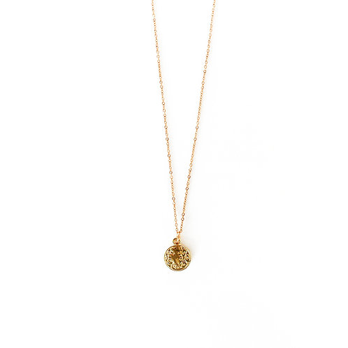 thunder necklace gold