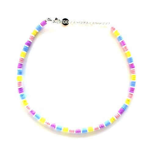 surf chain pastel colors