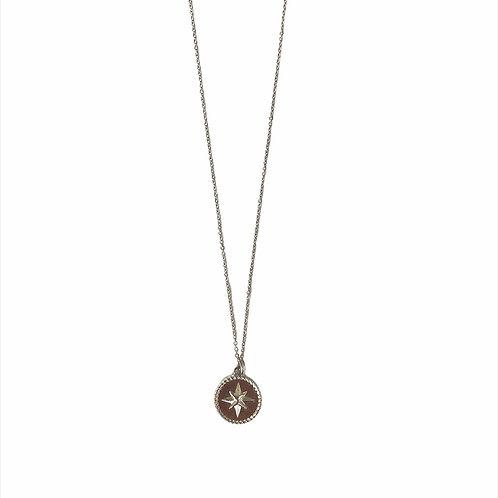 Coin necklace silver