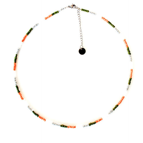 fall necklace silver
