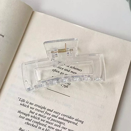 Hairclip transparent