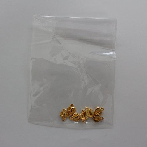 olifanten bedels goud/zilver