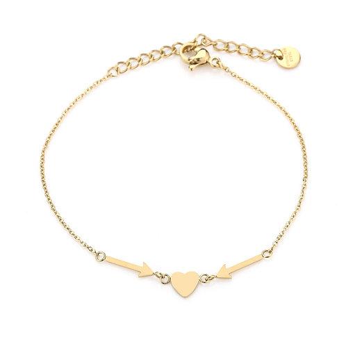 love you bracelet gold