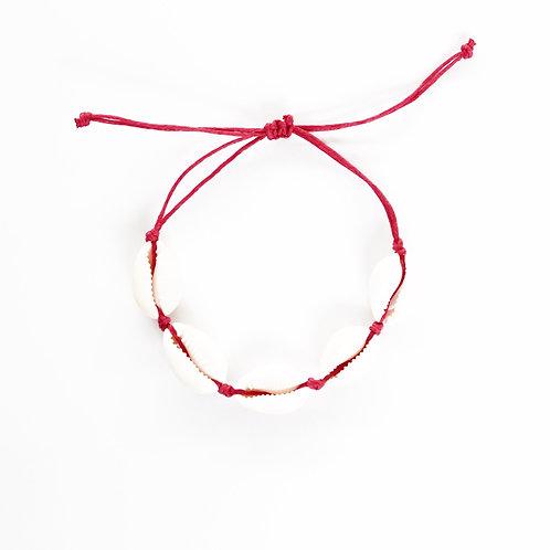 rose shell bracelet