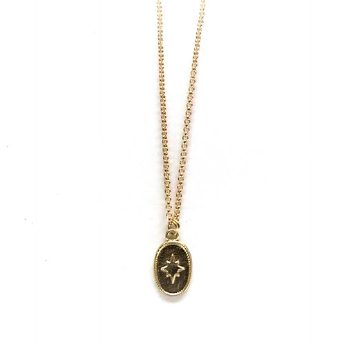 lange ster coin ketting