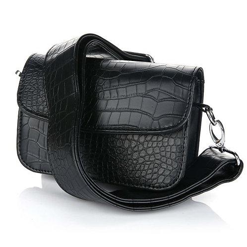 Victoria snake bag black