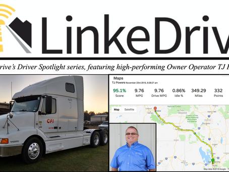 LinkeDrive Driver Spotlight with TJ Powers