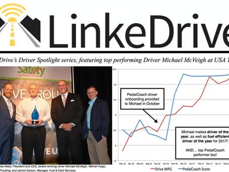 LinkeDrive Driver Spotlight at USA Truck