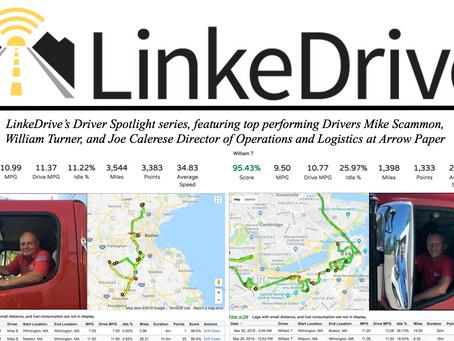 LinkeDrive Driver Spotlight at Arrow Paper