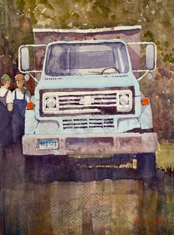 Retired Chevy Truck