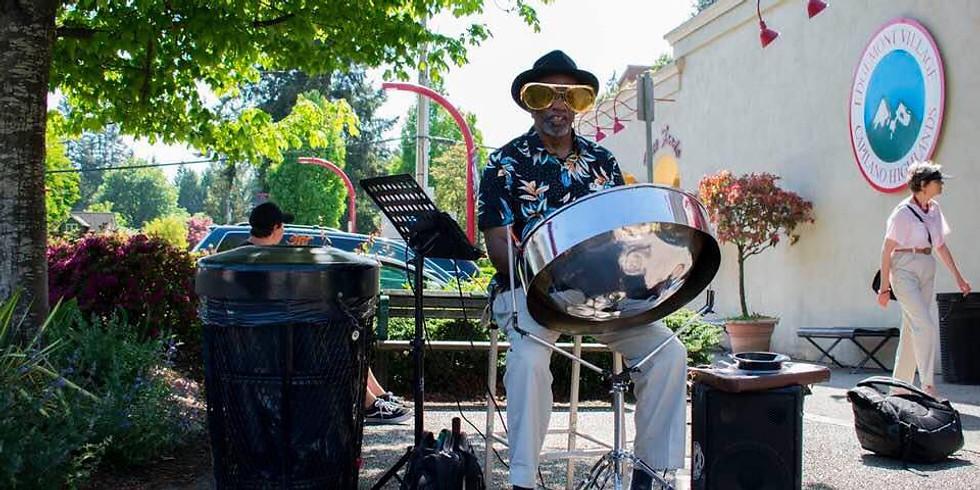 Calypso Fest featuring Abbla Banji's Steel-Pan drumming