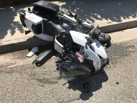 Game Changer: What a Highly Trained Motor Officer Learned from his Motorcycle Accident