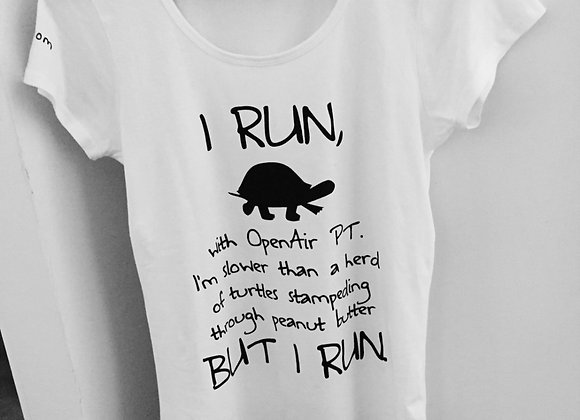*SOLD OUT* I RUN - Women's Shirt