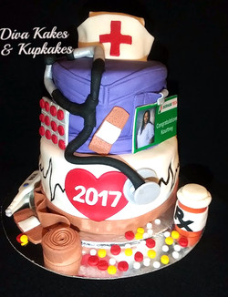 Graduation Nurse Theme
