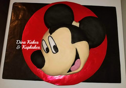 TT mickey mouse bday cake (1)