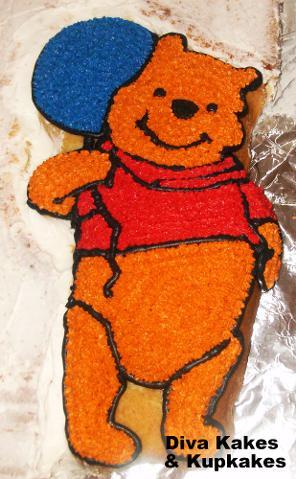 Pooh Surprise Cake