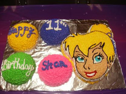 Tinker Bell Party cake