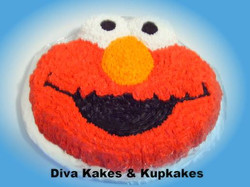 Tickle Me Elmo Cake