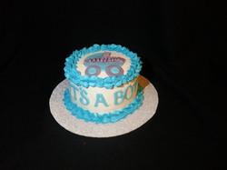 its a boy 6 inch cake