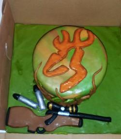 gun show cake