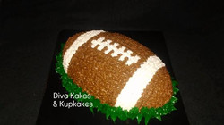 football themed cake