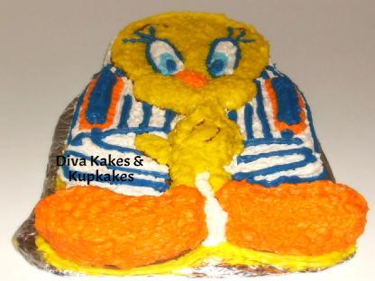 Tweeting Cake