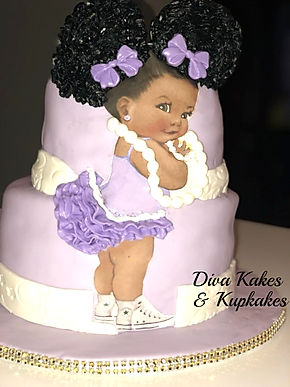 Afro Puffs Baby Shower Cake.jpg