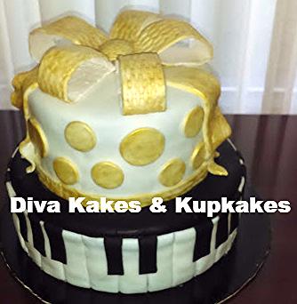 I love Music Sweet 16 Cake