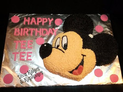 mickey mouse cake part 2