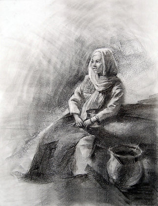 A Precious Vessel original drawing