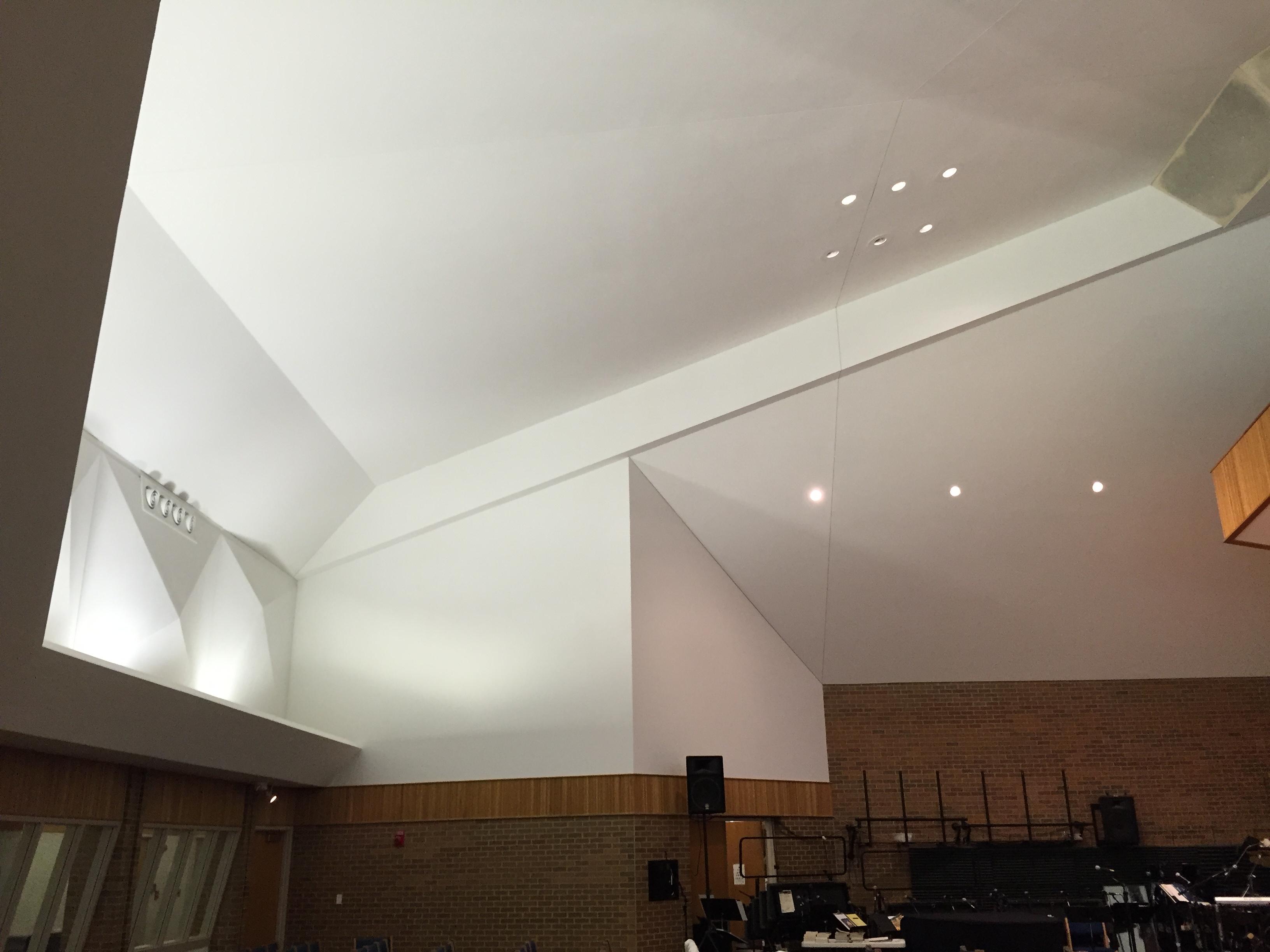 Interior Commercial Church
