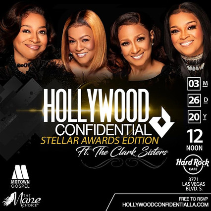 #HollywoodConfidential | An Afternoon w. The Clark Sisters!