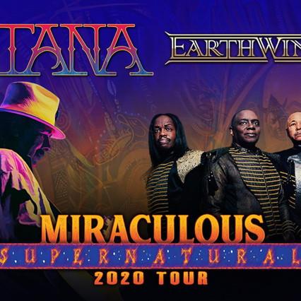 Santana & Earth, Wind & Fire Announce Joint Summer Tour