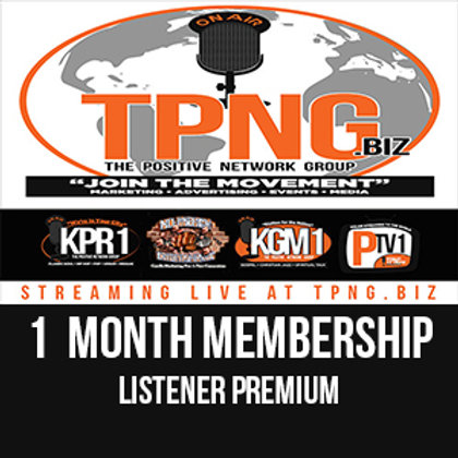 Buy NOW! to get 50% off on Listener Premium - Monthly Subscription