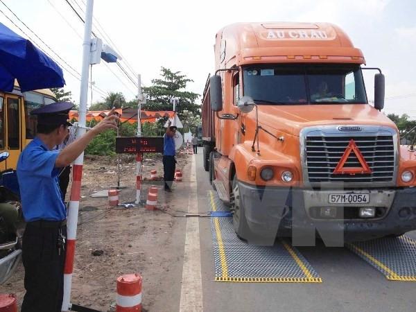 Quy định về trục và tải trọng xe container