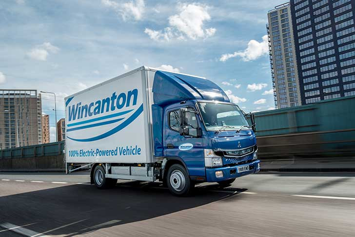 Manufacturers can utilize electric trucks from Wincanton