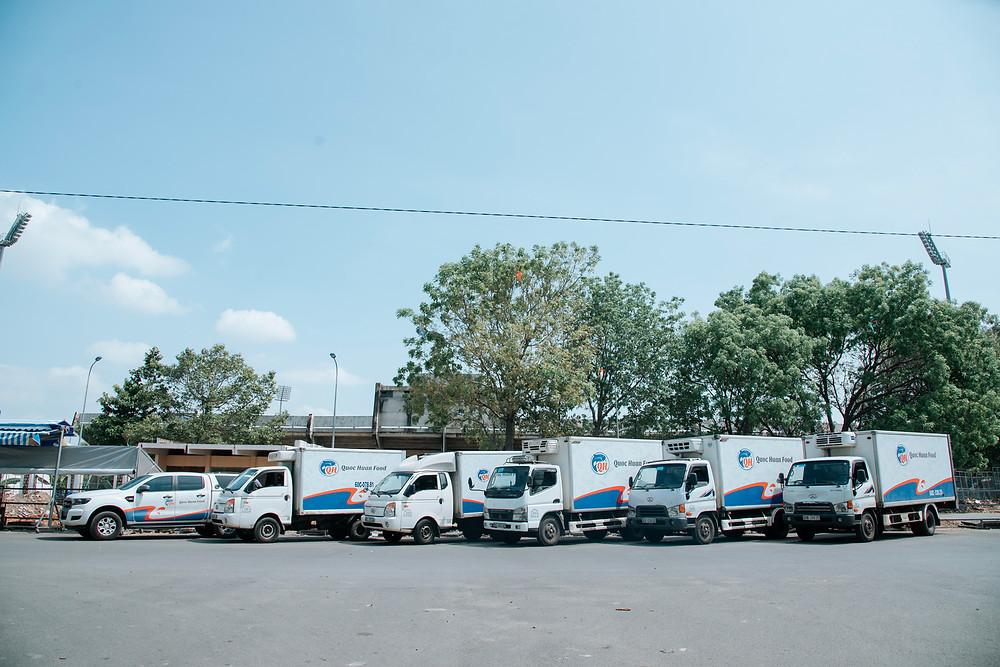 fleets of Quoc Huan Food