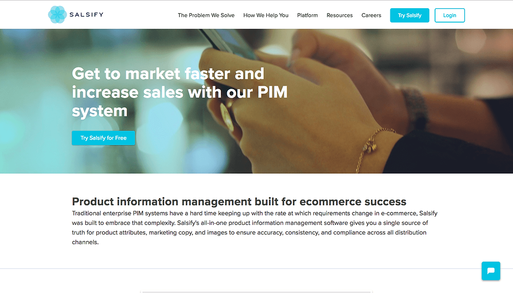 Salsify - Product Information Management Software