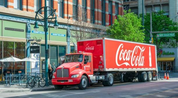 Xe tải của Coca-Cola thời hiện đại