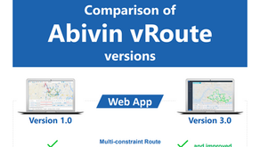 Infographic: Compare vRoute 1.0 and vRoute 3.0