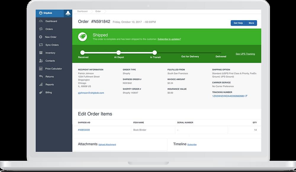 Phần mềm xử lý đơn hàng cho các công ty 3PL