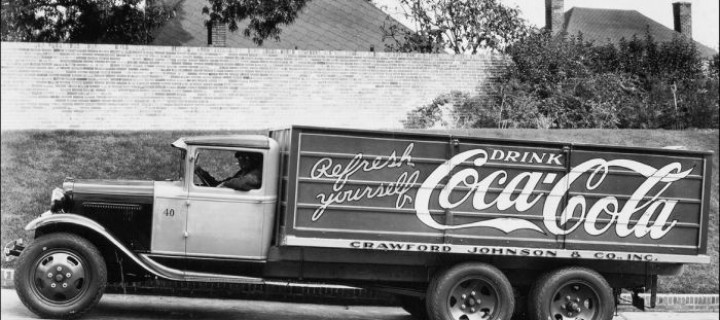 The Coca-Cola Company has a long history of using in-house fleet