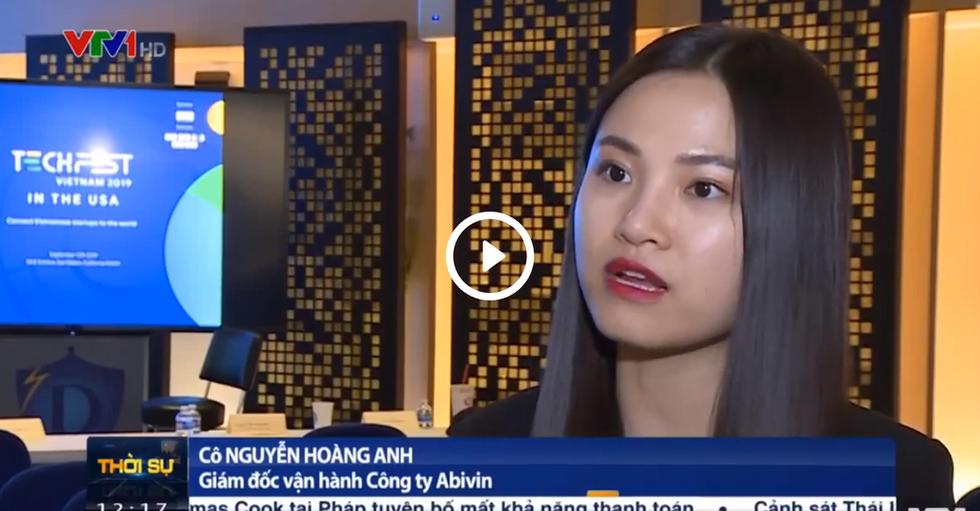 VTV1 | Ms. Cassie Nguyễn - COO & Co-founder của Abivin trên chương trình thời sự về sự kiện Techfest Việt Nam tại Mỹ