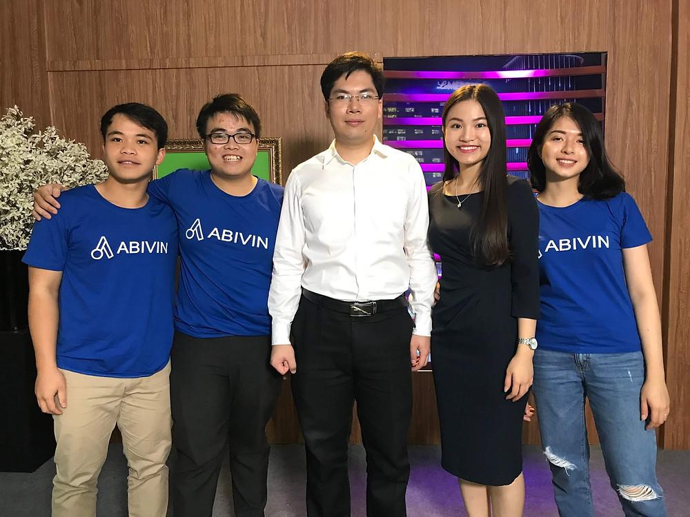 Abivin Team on Shark Tank