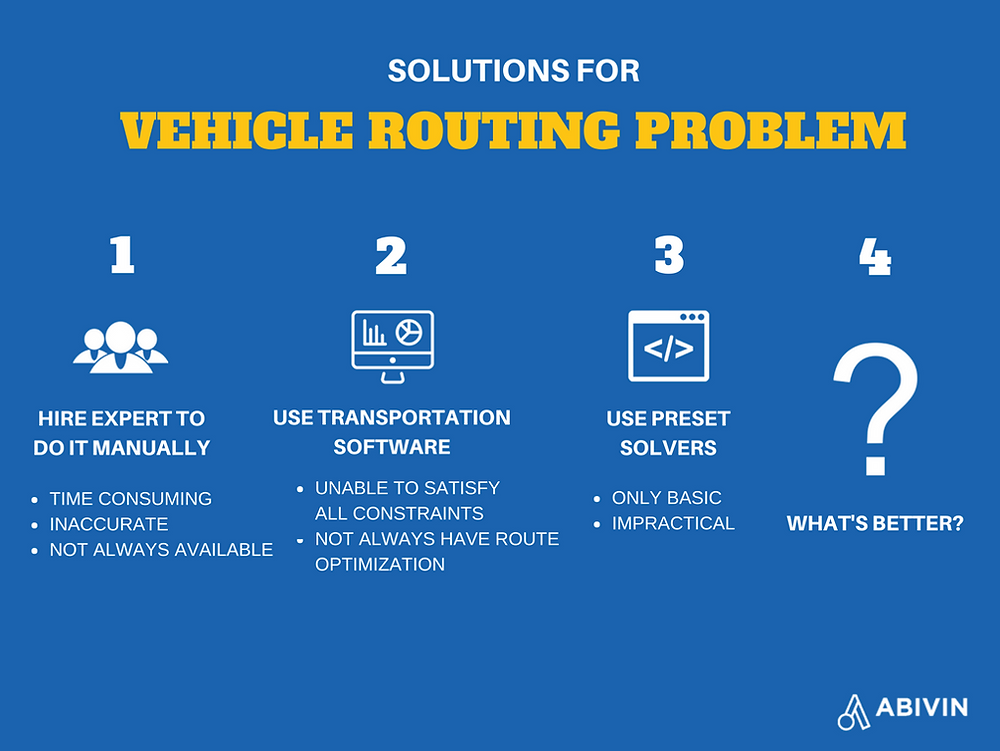 Route optimization software Abivin vRoute, is more than a transportation software
